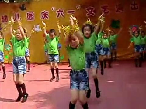 幼儿园舞蹈 最炫民族风