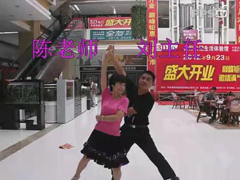 涟水名流健身队淮安广场舞大赛 三步踩 格桑拉