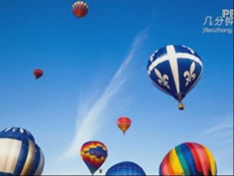 简笔画大全系列 简笔画之热气球(一)