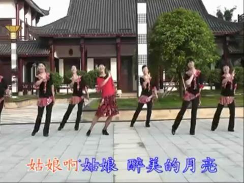 312动动广场舞醉月亮 动动广场舞舞蹈教学