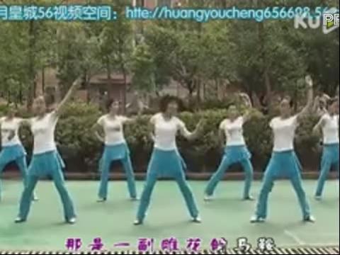 雕花的马鞍广场舞 周思萍广场舞教学
