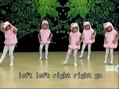 儿童舞蹈:兔子舞 教学视频