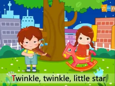 儿童歌曲 - 小星星(英文版)