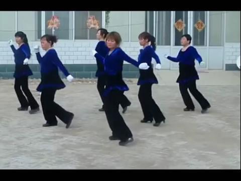 场舞一生无悔14步_高清-阜城南付广场舞一生无悔16步