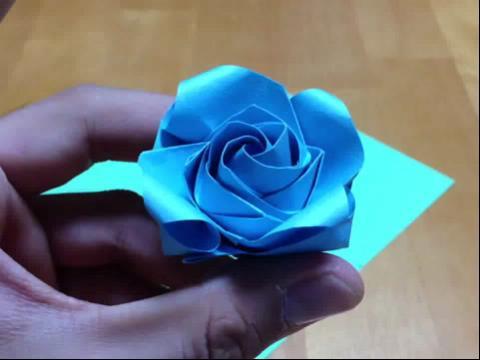 教学 立体花球的折法图解 立体花球折纸图解视频 简单花球的折法视频