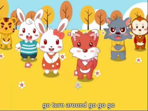 儿歌视频大全100首 兔子舞