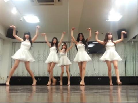 【舞蹈教学】韩国女团9muses - gun