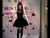 台湾长腿美女车模激情热舞