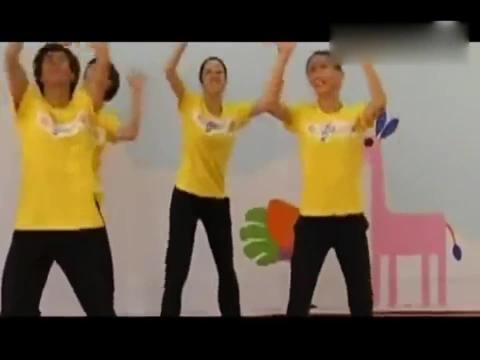 幼儿园六一幼儿舞蹈《加油歌》教学示范