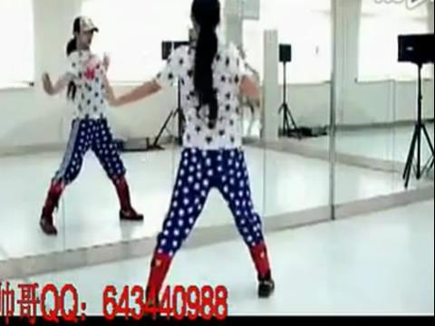 简单好看的女生街舞初级入门舞蹈教学