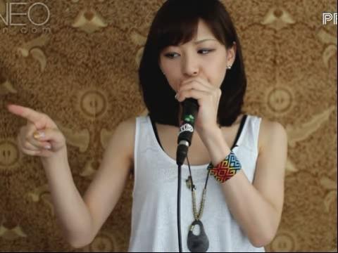 日本口技美女再次现身秀口技