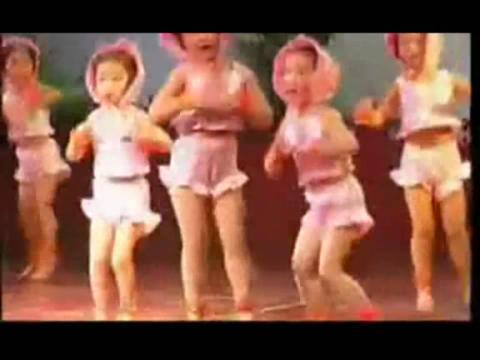 [少儿舞蹈教学视频大全-我爱洗澡]