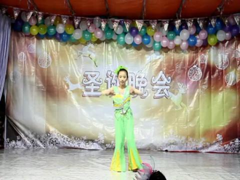 2013圣诞节儿童独舞舞蹈基督教诗歌-耶和华是我牧者