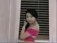 韩国美女床上诱惑露胸性感