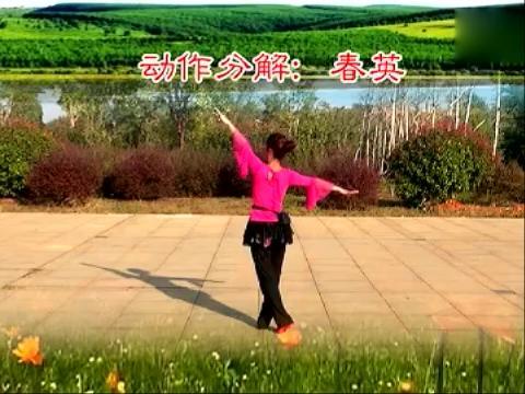 月亮湖畔-江西鄱阳春英广场舞(背面动作)