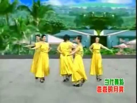 弯弯的月亮.最新广场舞教学视频