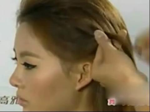 流行美编发教程 新娘发型设计视频图片图片