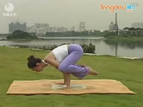 7日瑜伽减肥视频 手臂鹤蝉式