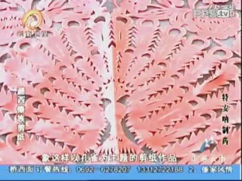 走遍云南 潞西傣族剪纸