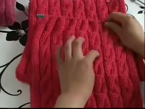 手工毛线围巾编织花样
