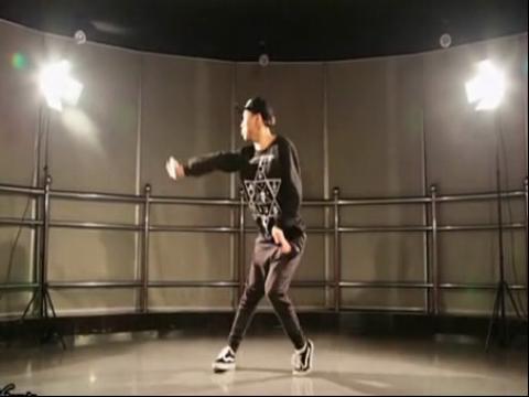 单色舞蹈爵士舞基础入门教学视频02