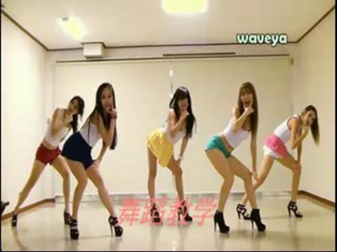 美女《江南style》视频