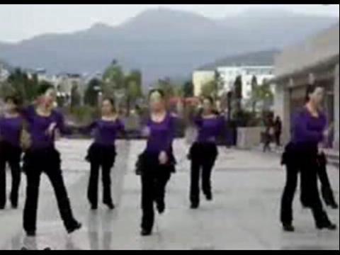 广场舞 印度 美女 教学