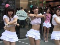 韩国青春中学生美女热舞
